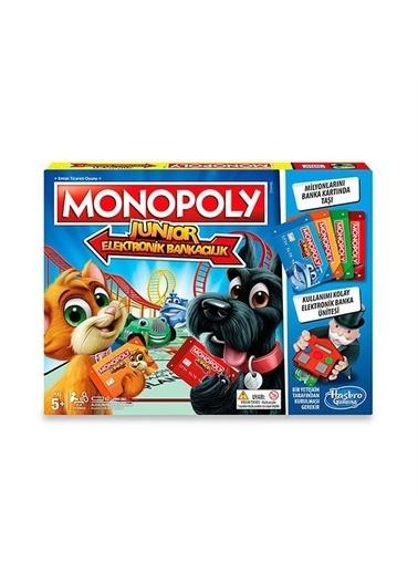Hasbro Monopoly Junior Elektronik Bankacılık Renkli
